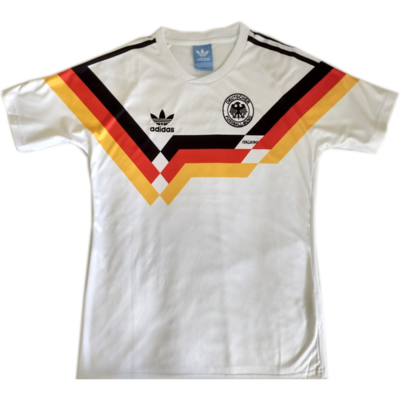 1990 West Germany Home Soccer Jersey (Replica)
