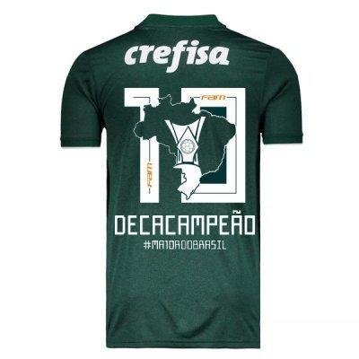 Adidas Palmeiras Deca Campeão Brasileiro Home Soccer Jersey Shirt