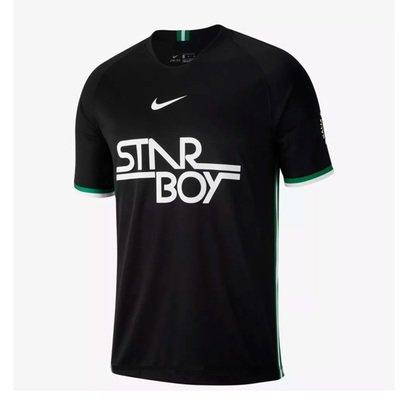 Nike Wizkid Co-creation Stadium Shirt Starboy Jersey (Black) Official Jersey Shirt