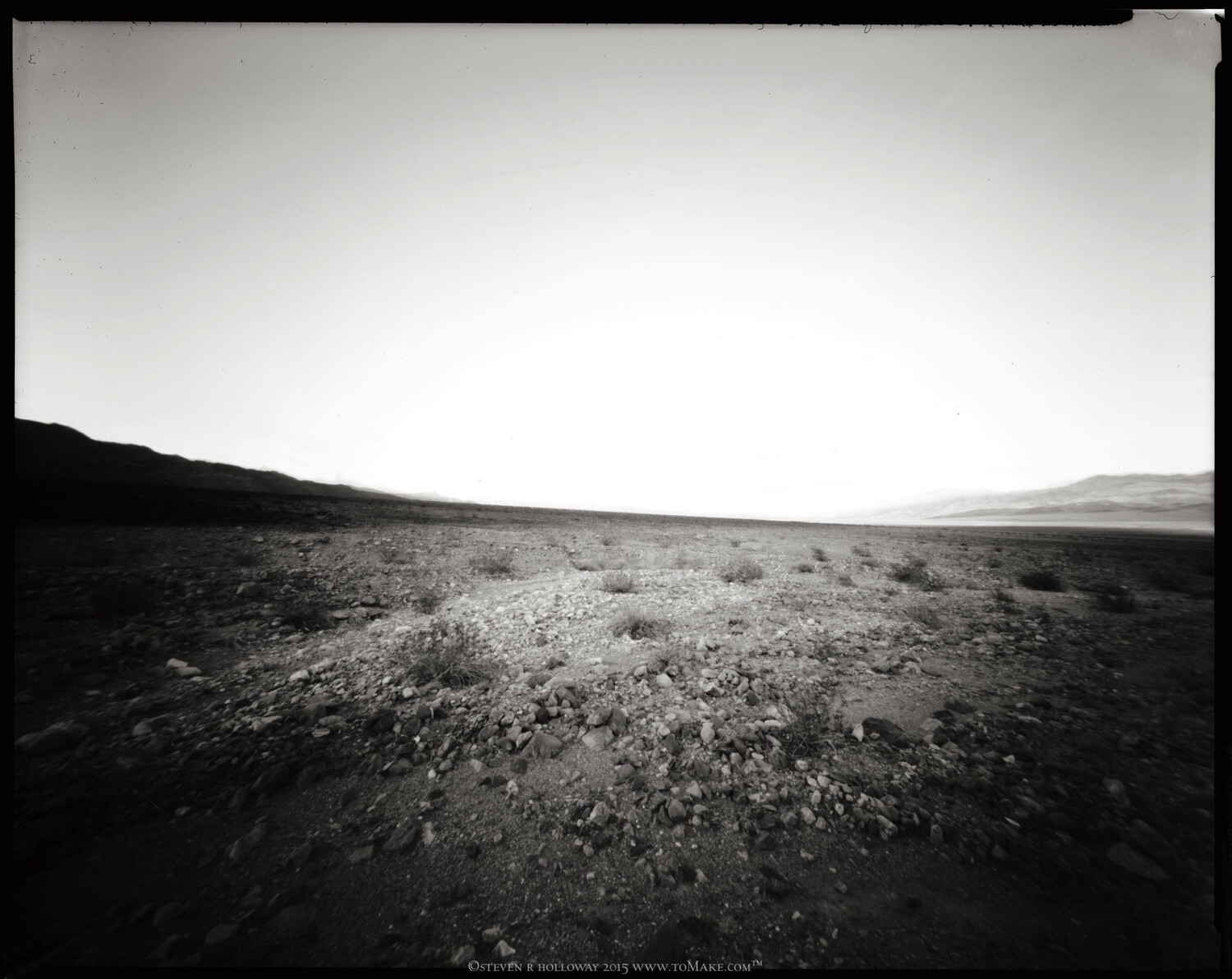 Pinhole Images: Trail Canyon Playa