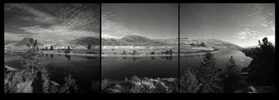 Pinhole Images: At the Bend in the River