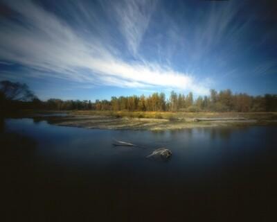 Pinhole Images: River Bend View