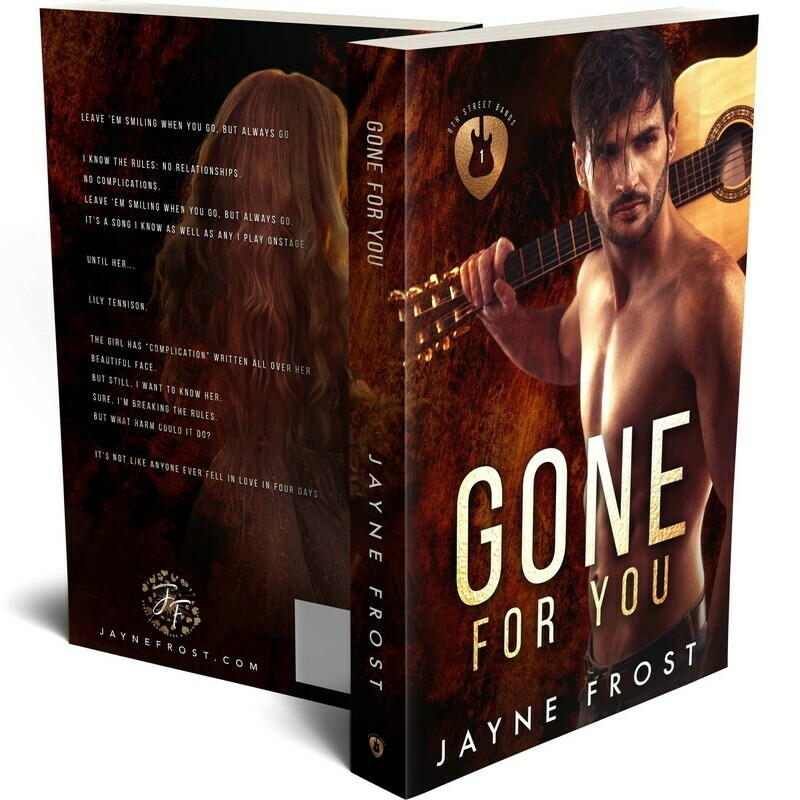 Gone For You Signed Paperback