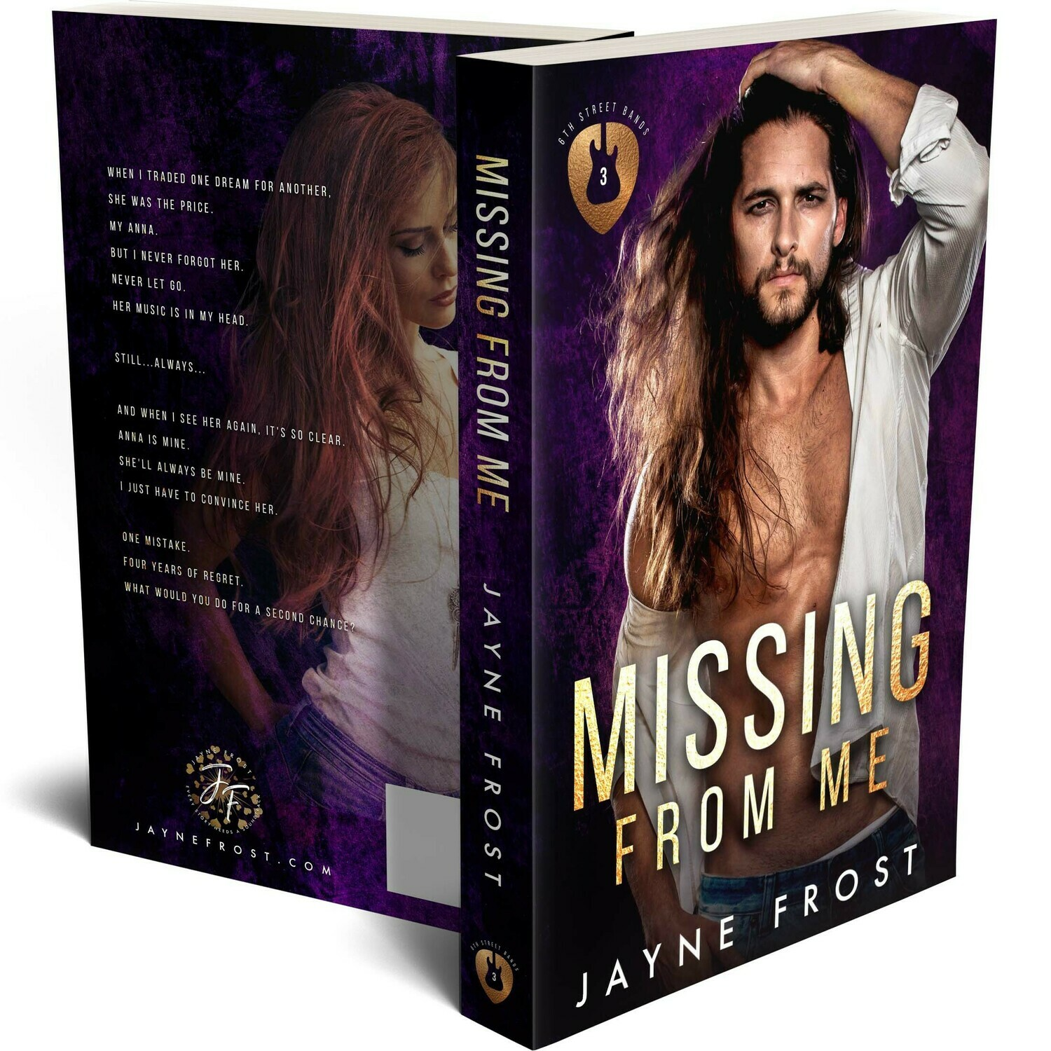 Missing From Me Signed Paperback