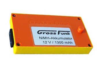 Grossfunk Battery 12V/1300mAh NiMH