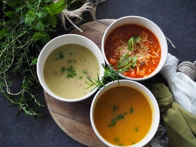 Vegetable Minestrone Soup - Frozen Meal