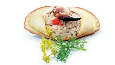Krabbeskall - klokjøtt 1 stk