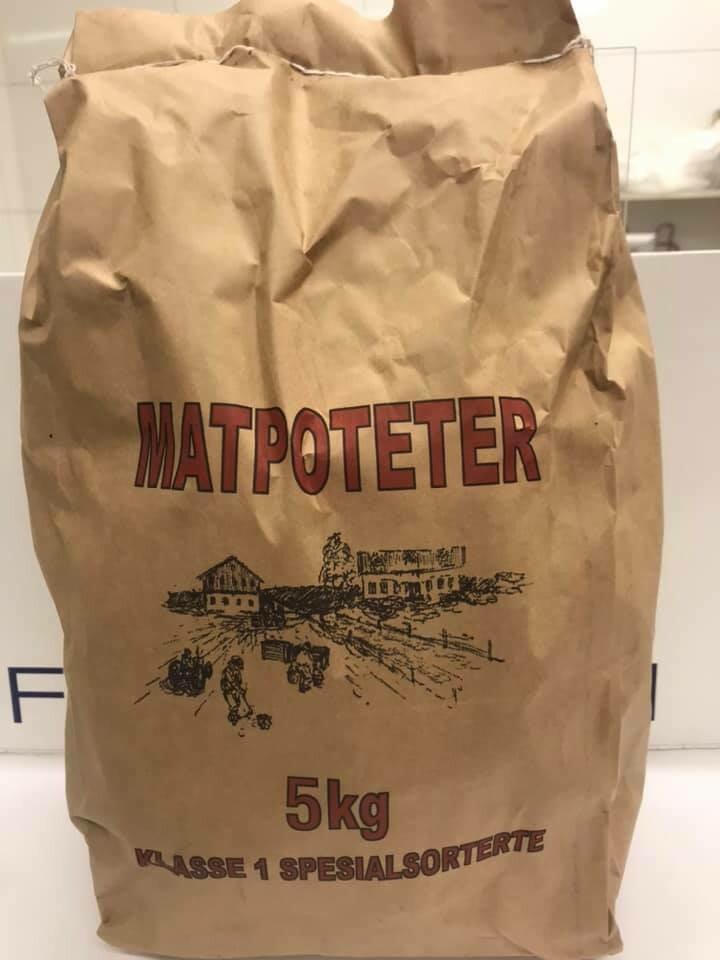 Førsteklasses spesialsorterte mandelpoteter 5 kg