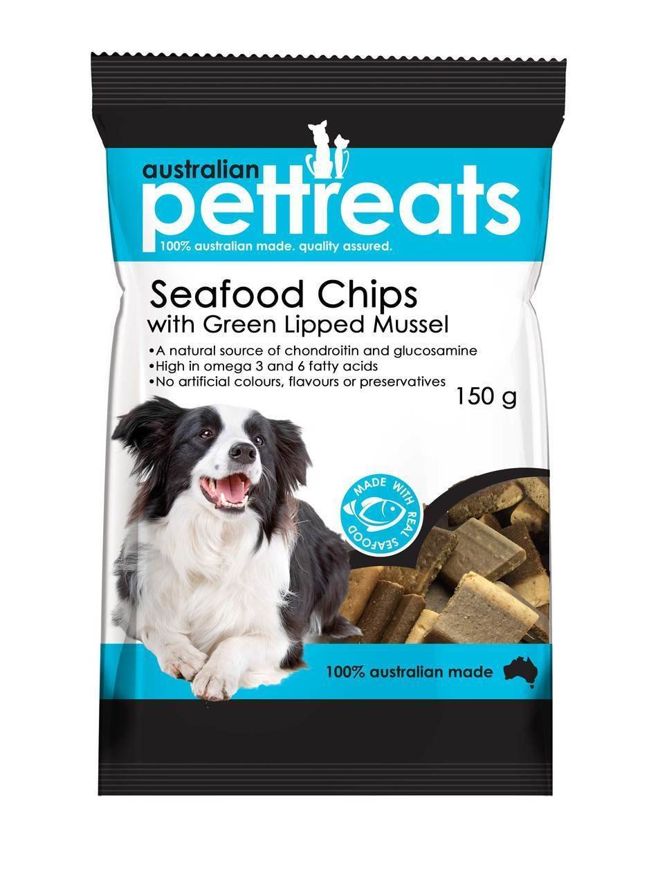 Seafood Chips with Green Lip Muscle