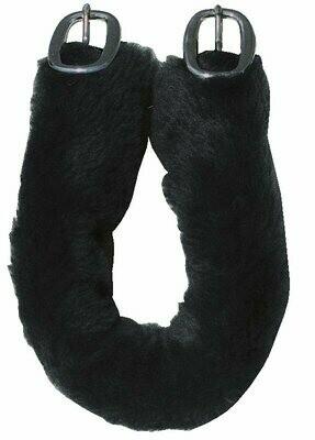 Harness Pad - Fake Fur, Crupper Cover