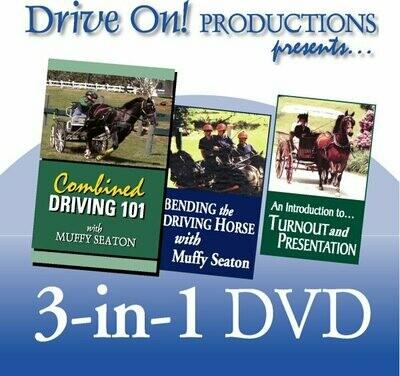 3 in 1: Muffy Seaton DVD
