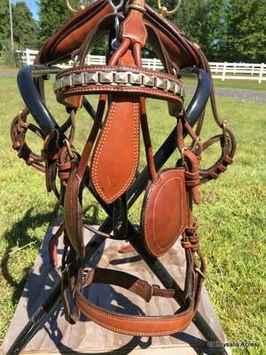 Smucker's Deluxe Russet Harness
