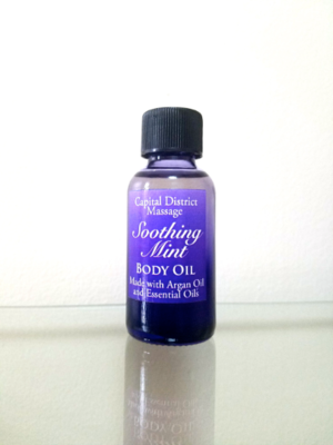 Soothing Mint Body Oil