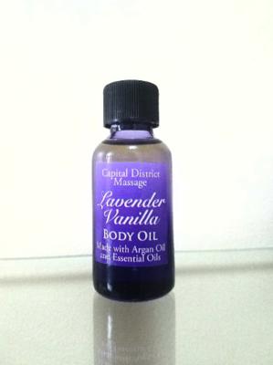 Lavender Vanilla Body Oil