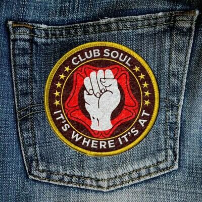 CLUB SOUL SEW-ON PATCH