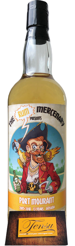 "Port Mourant 13 Years Old (2005-2018) ""The Rum Mercenary"""