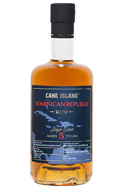 "Cane Island Rum - AFD 5 Years Old ""Single Estate Dominican Republic"""