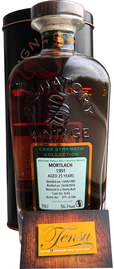 """Mortlach 25 Years Old (1991-2016) """"Signatory"""""""