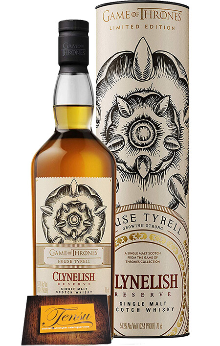"""Clynelish Reserve - House Tyrell """"Game Of Thrones"""""""