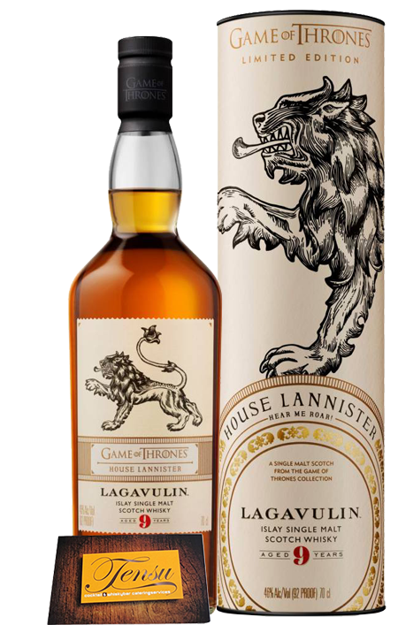 """Lagavulin 9 Years Old - House Lannister  """"Game Of Thrones"""""""