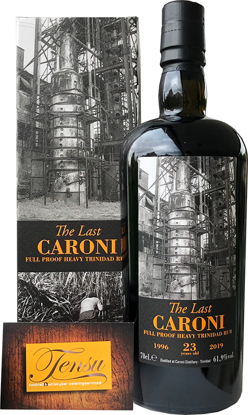 "Caroni The Last 23 Years Old Trinidad Rum (1996-2019) ""La Maison and Velier"""
