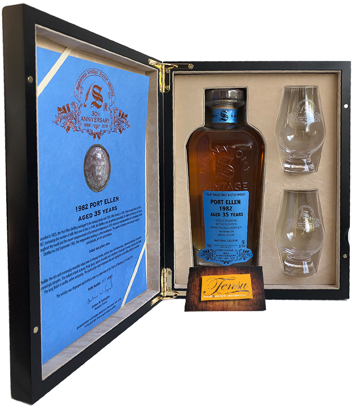 "Port Ellen 35 Years Old (1982-2018) ""Signatory"""