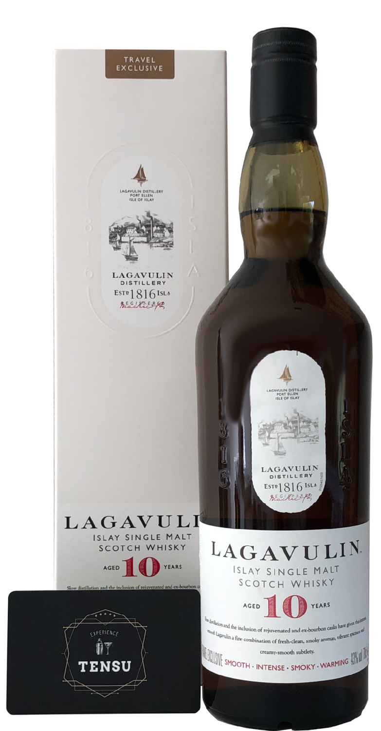 """Lagavulin 10 Years Old """"Travel Exclusive"""""""