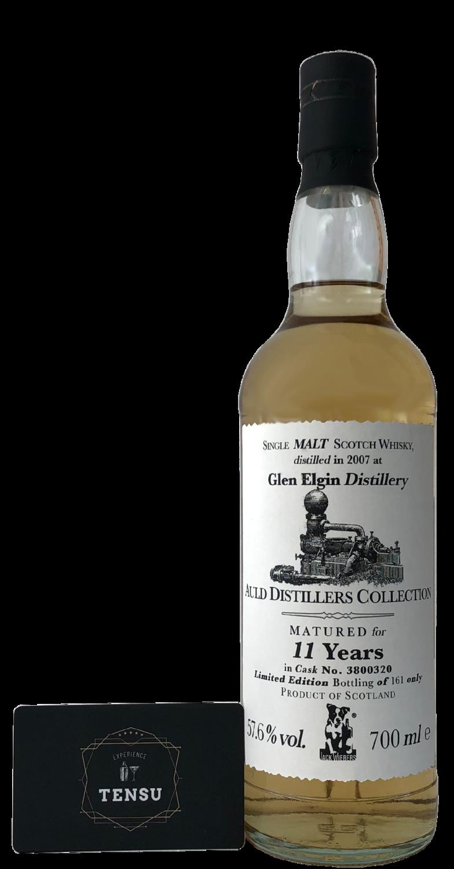 "Glen Elgin 11 Years Old (2007-2019) - Auld Distillers Collection ""Jack Wieber"""