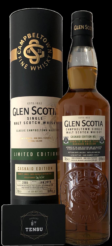 """Glen Scotia 13 Years Old (2005-2019) """"CaskAid"""""""