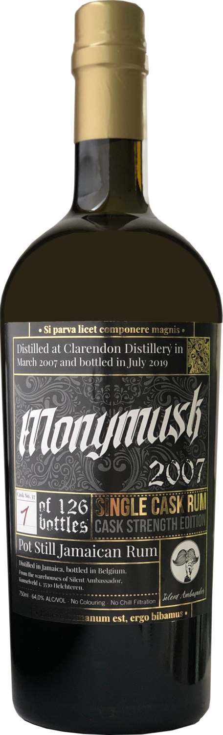 """Monymusk 12 Years Old (2007-2019) Cask Strength """"Silent Ambassador"""""""
