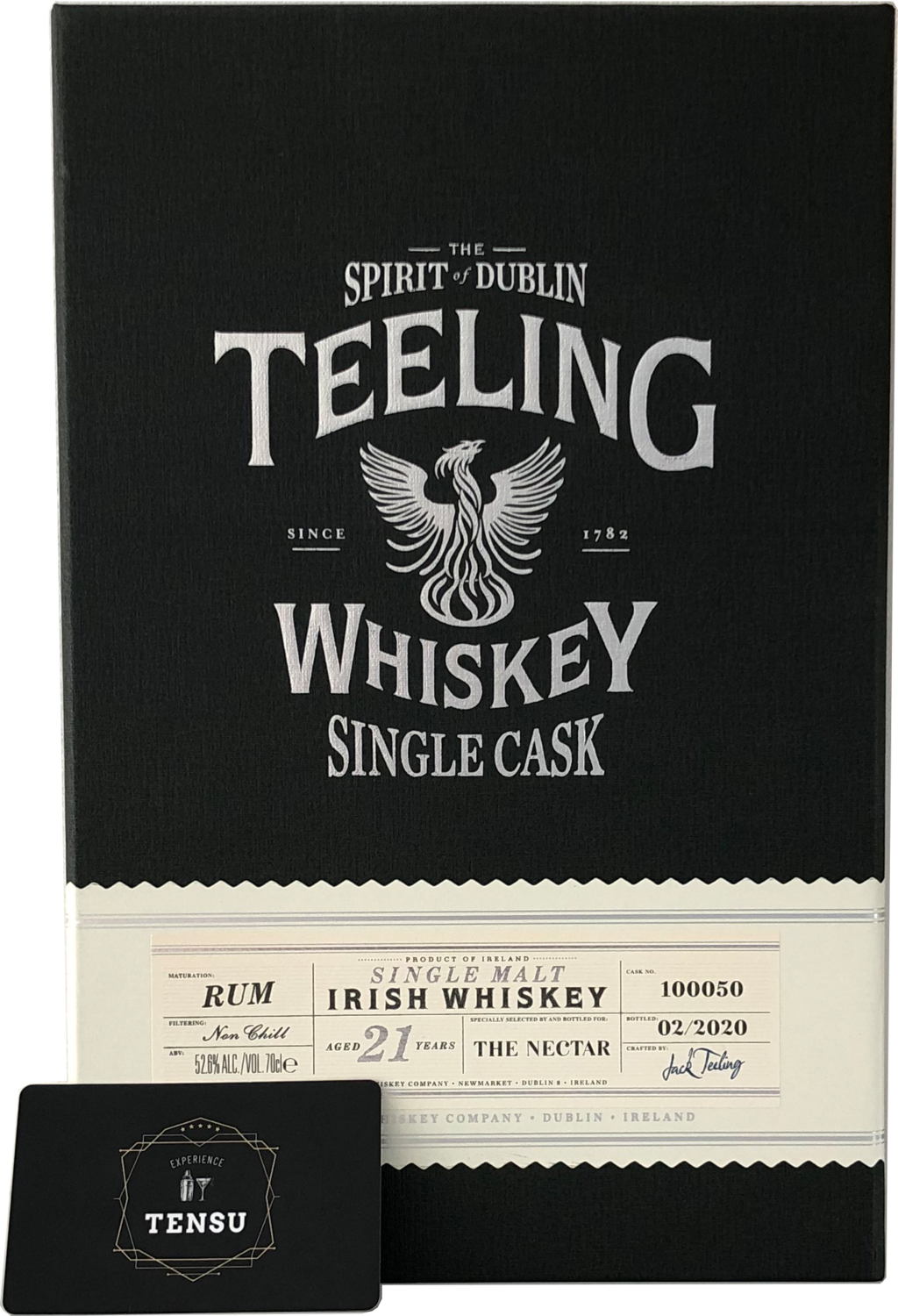"Teeling 21 Years Old (2020) - Rum Cask Maturation ""The Nectar"""