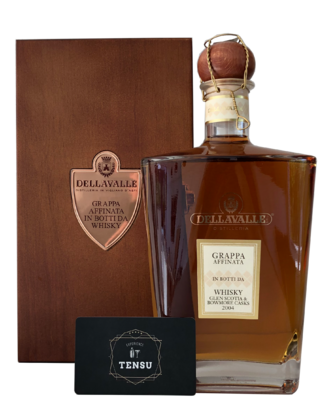 Dellavalle Grappa Affinata Whisky (Glen Scotia & Bowmore Casks)