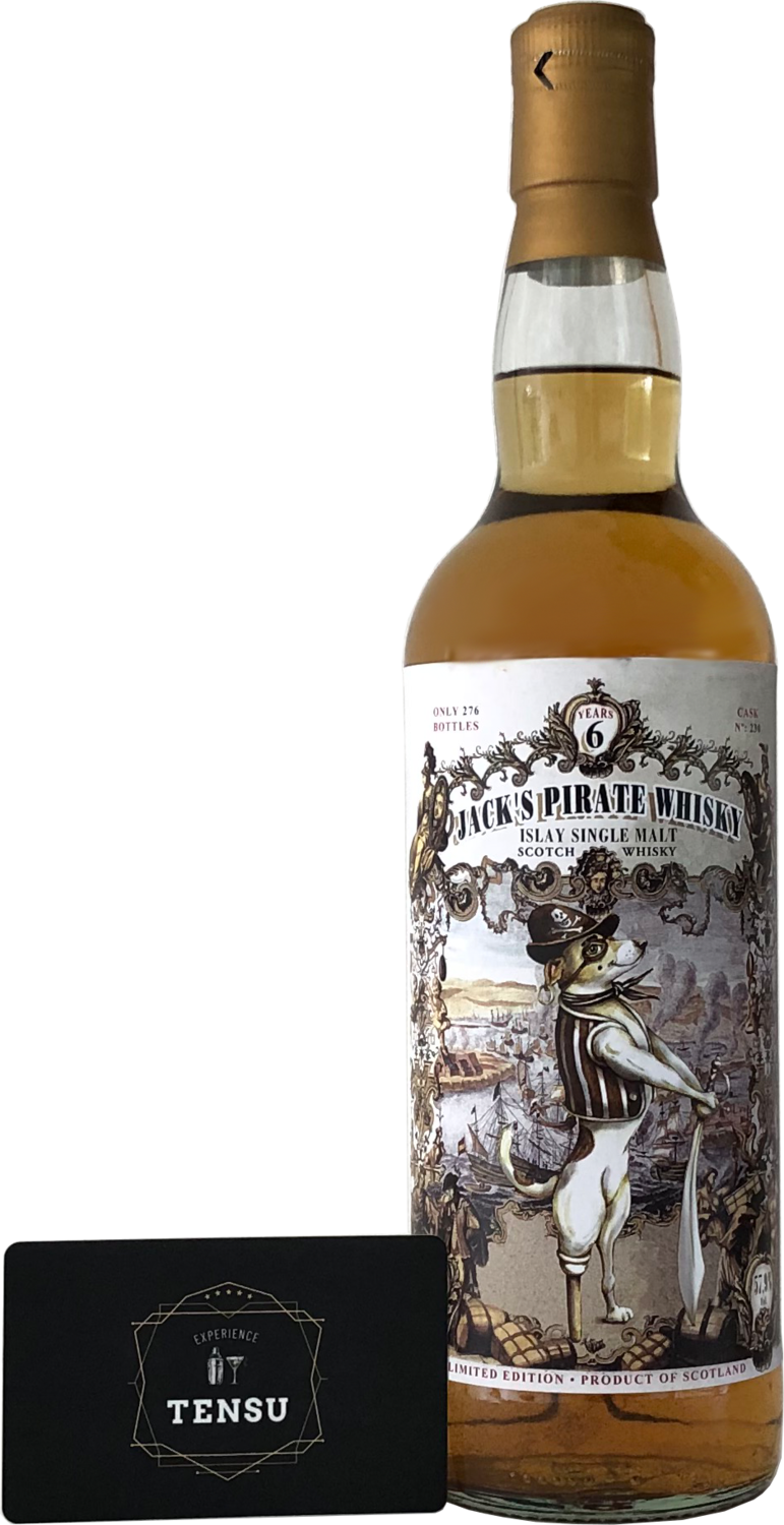 """Jack's Pirate Whisky 6 Years Old (2011-2017) """"Jack Wieber"""""""