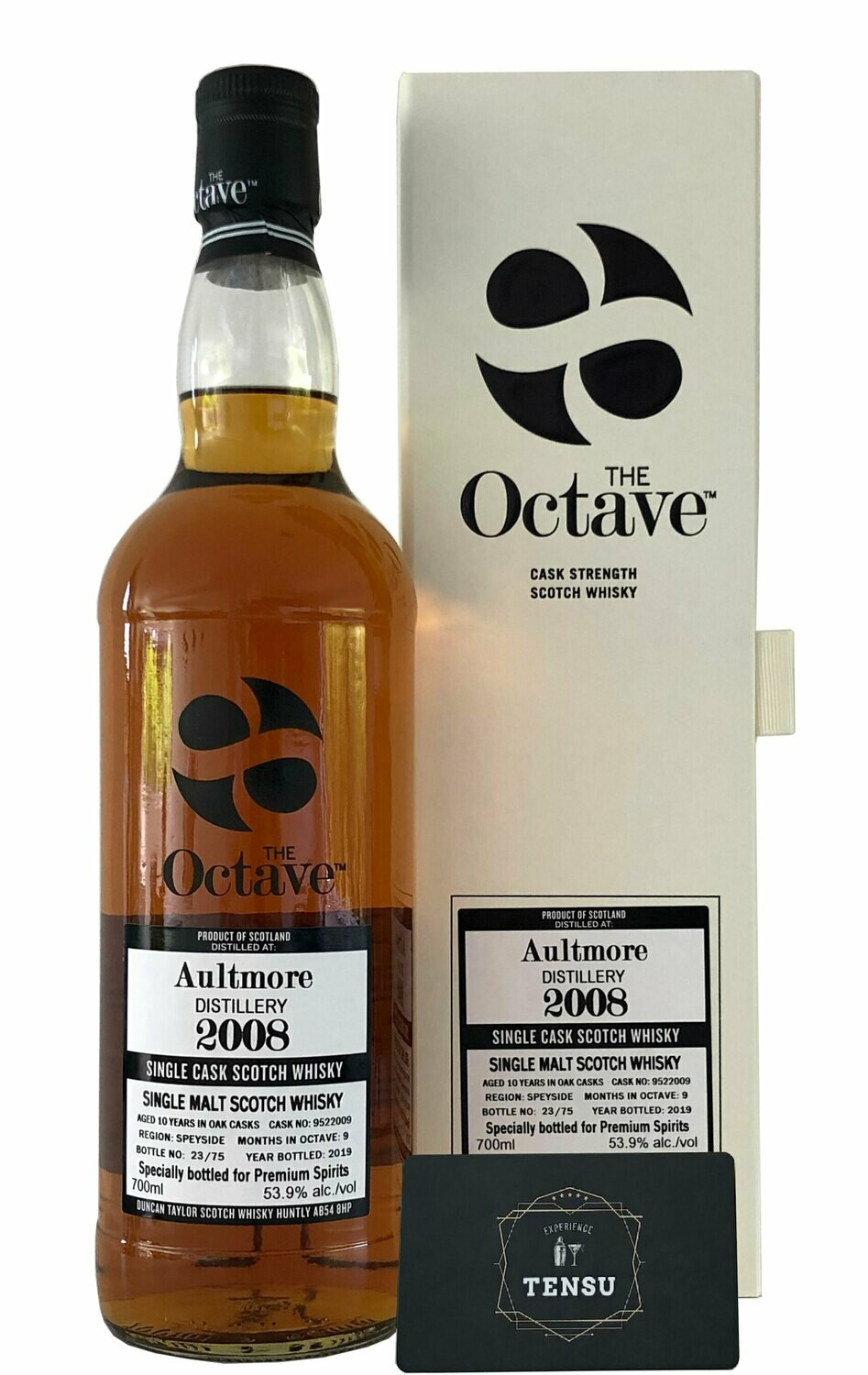 """Aultmore 10 Years Old (2008-2019) """"Duncan Taylor"""""""
