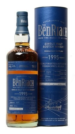 "BenRiach 20 Years Old Single Cask ""Premium Spirits"""