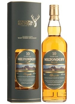 "Miltonduff 10 Years Old ""Gordon & MacPhail"""