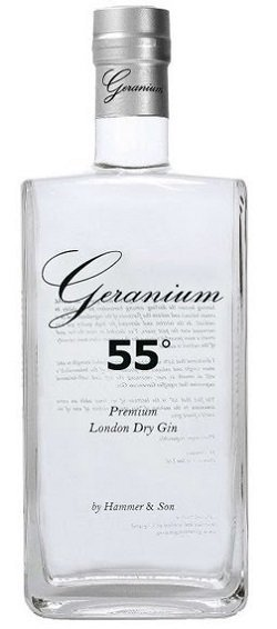 Geranium 55° Londen Dry Gin