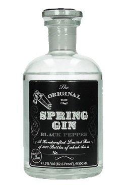 Spring Gin Black Pepper