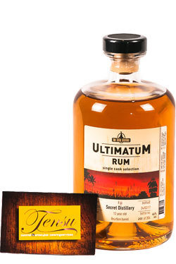 """South Pacific 12 Years Old Fiji Rum (2004-2017) """"Ultimatum"""""""