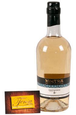 "Hampden 8 Years Old Jamaica Rum (2009-2017) ""Kintra"""