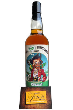 """Foursquare 12 Years Old (2005-2018) """"The Rum Mercenary"""""""