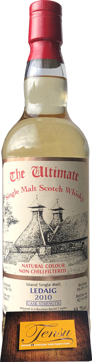 """Ledaig 7 Years Old (2010-2018) - Cask Strength """"The Ultimate"""""""