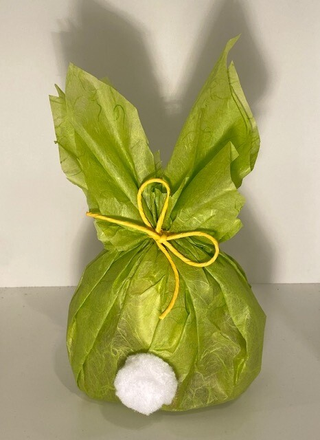 Konijn verpakking groen