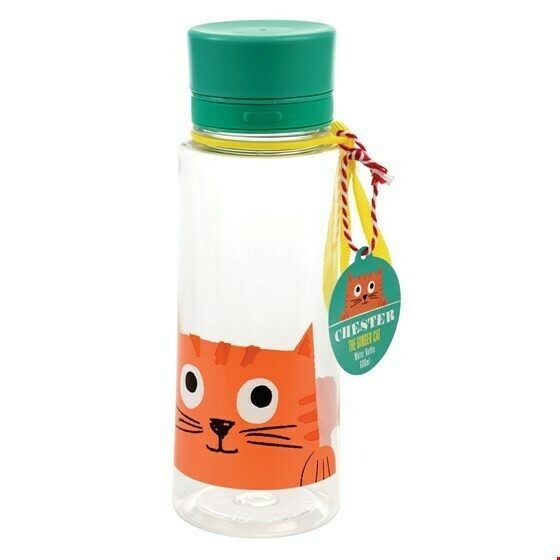 Chester the cat waterfles