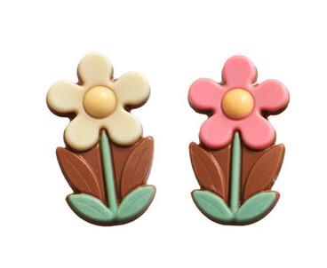 Carraque flower Marie melk 6stuks