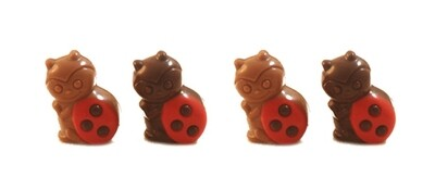 ladybug met praliné vulling