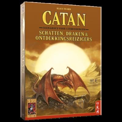 Catan schatten, draken en ontdekkingsreizigers