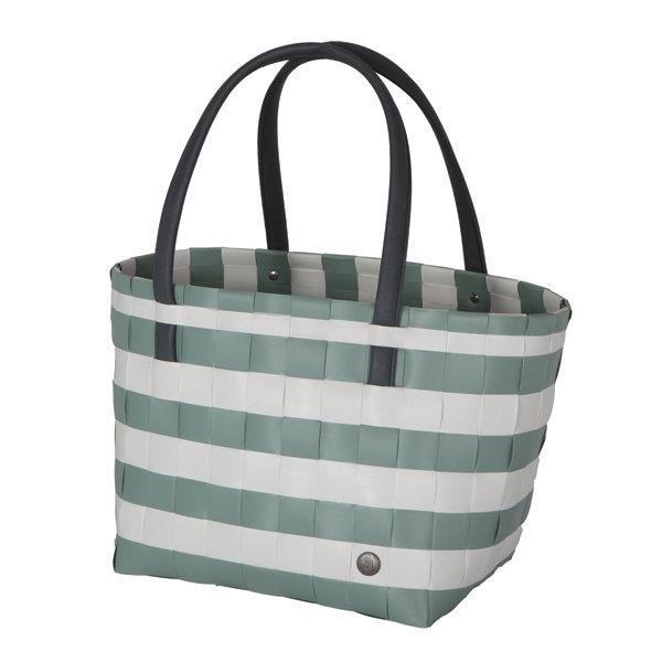 Shopper Color Block greenfish white
