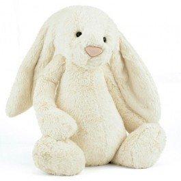 Small Bashful ecru konijn 40cm