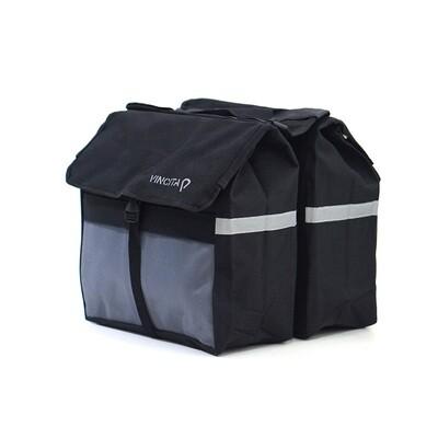 Bike Bag - Double Pannier Top Load
